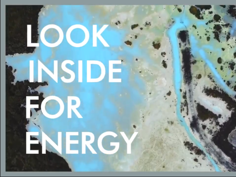 Life - Look Inside For Energy - Inspired by Iceland